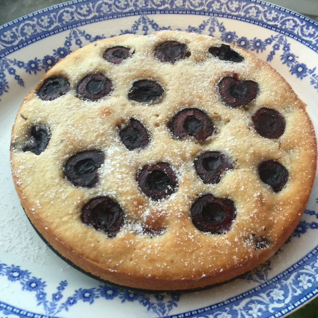 photo of cherry cake