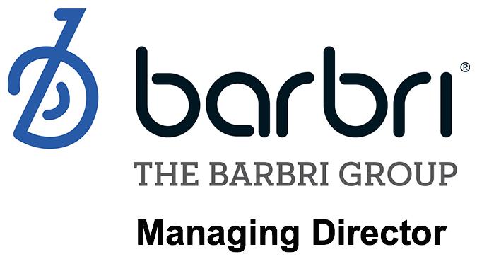 managing director job barbri