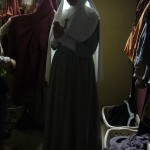 As a nun…one of 9 costume changes in Act One