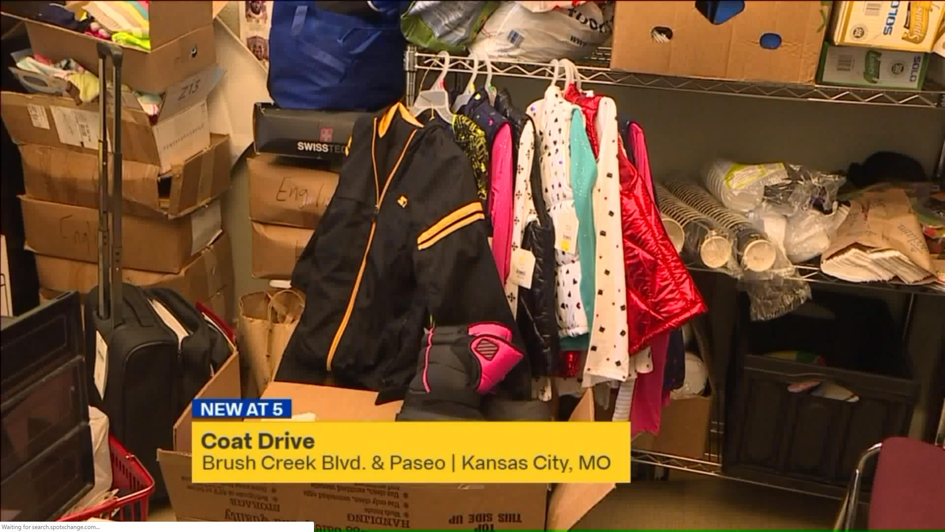 Jewish Vocational Service in Kansas City holding coat drive for refugees