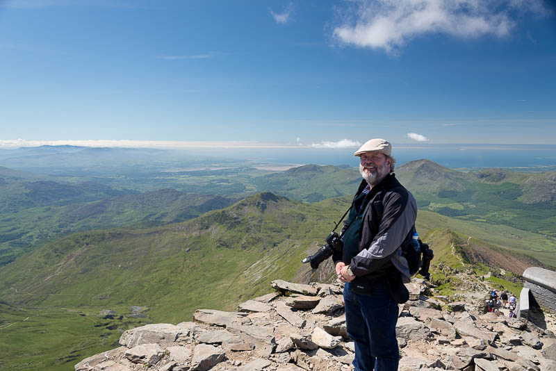 On Snowdon - Peter Cramp-2