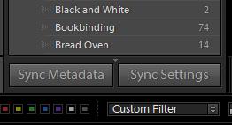 Sync Settings button
