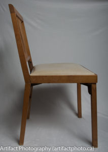 Unfolded chair - right side