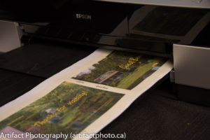 Printing the cover art