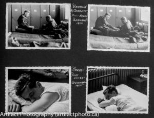 Processed photo album page