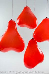 Back-lit Balloons