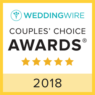 Javier Olivero - Certification - WeddingWire Couples' choice awards 2018