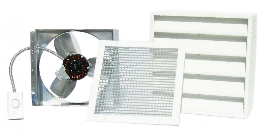 GX ES 1100 Garage Fan