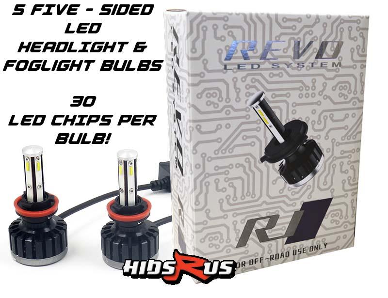 Lexus LX470 LED Headlight Bulbs and LED Fog Light Bulbs