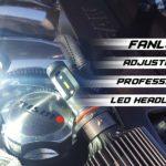 Fanless LED Headlight Bulbs