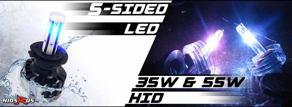 HID Kits and LED Headlight Light Bulb Kits