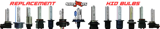 Replacement HID bulbs for conversion kits