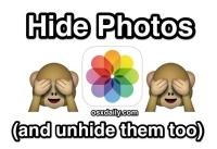 How to Hide Photos on iPhone & iPad with the iOS Hidden Album