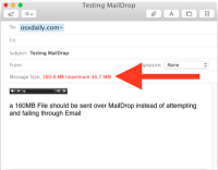 How to use Mail Drop