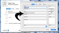Get the old iTunes 'Get Info' box with Option Click