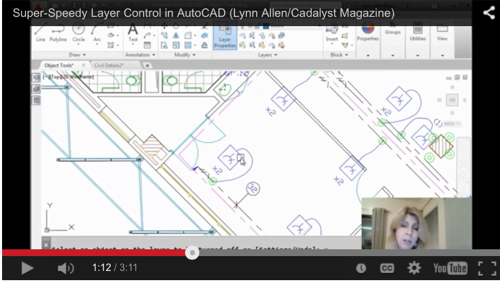 Super-Speedy layer control in AutoCAD from Lynn Allen – Cadalyst