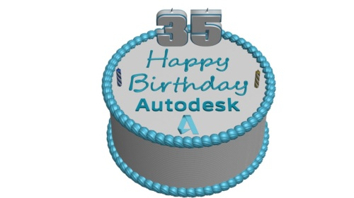 Happy Birthday Autodesk!