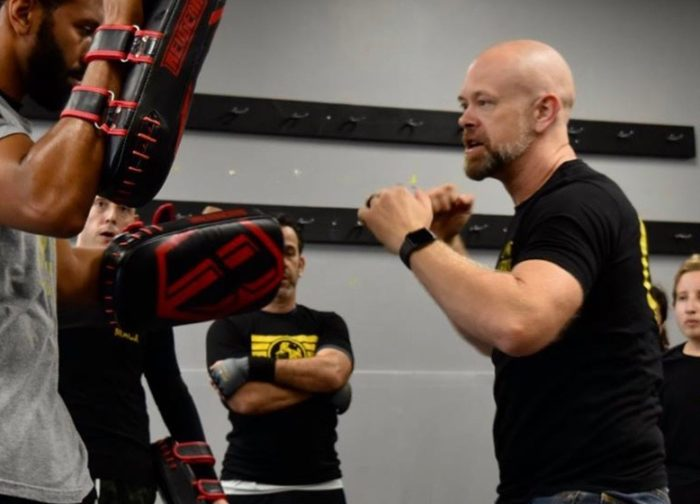 Jason Fryer Owner Instructor Lions Krav Maga