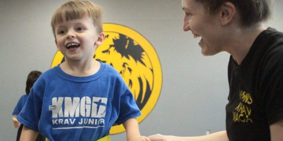 Katie Fryer Lions Krav Maga Instructor Krav Junior Austin TX