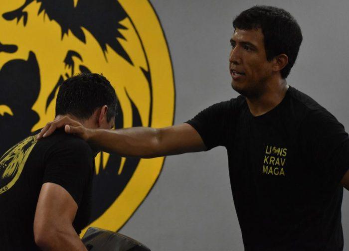 Eddy Rivas Lions Krav Maga Instructor