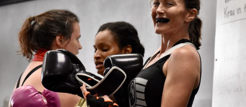 Vanessa Lions Krav Maga kids instructor