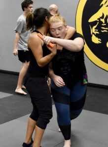 Claire Rozmus Lions Krav Maga Instructor