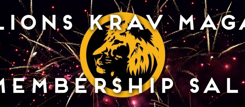 new year sale 2021 lions krav maga