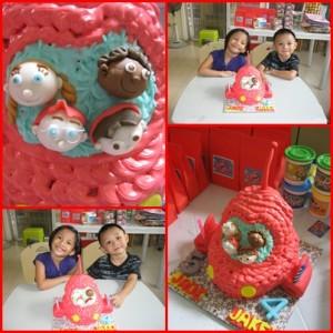 woku little einsteins cake