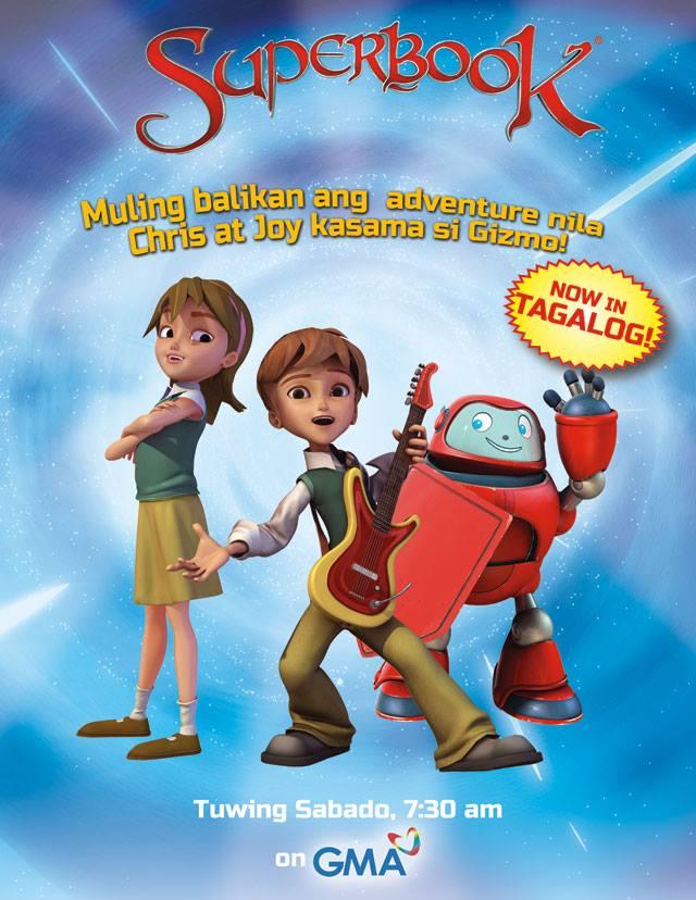 Superbook in Tagalog poster