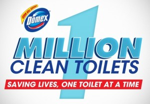 Shell one million clean toilets