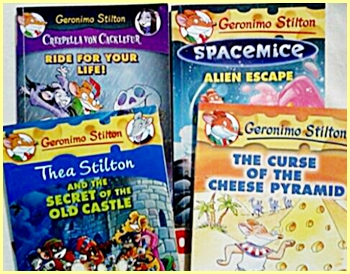 More Geronimo Stilton books from the Scholastic Sizzling Summer Sale!