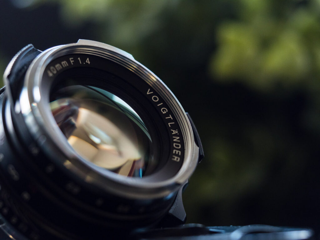 Voigtlander 40/1.4 Closeup