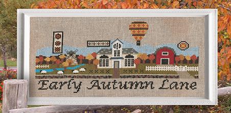 Early Autumn Lane