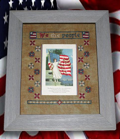 We the People-Dear Flag Hardcopy