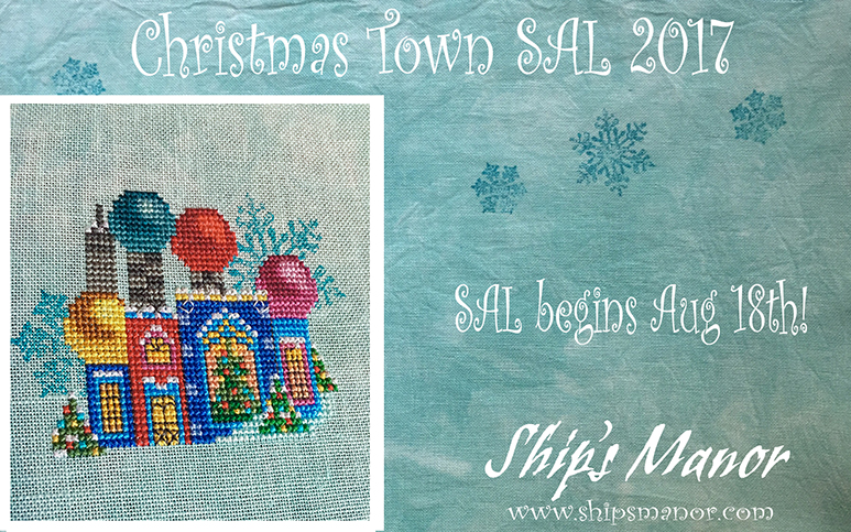 **Christmas Town SAL Thread Pack