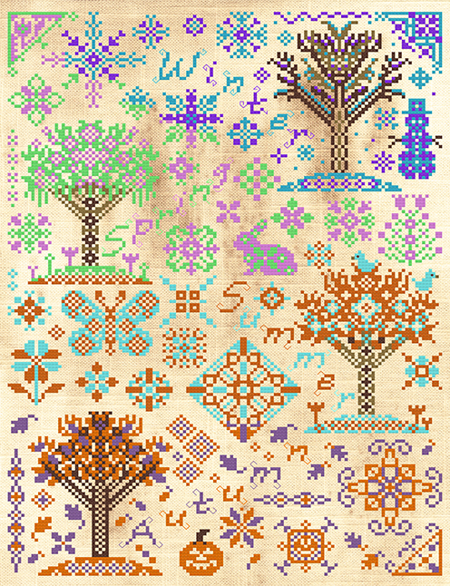 Seasons Change PDF Pattern