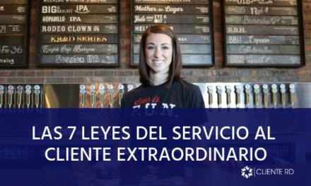 Las 7 leyes del servicio al cliente extraordinario