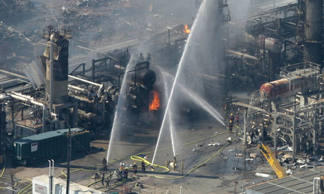 BP to pay $50m fine for safety violations after Texas City explosion