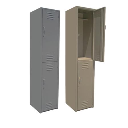 2 puertas lockers de linea