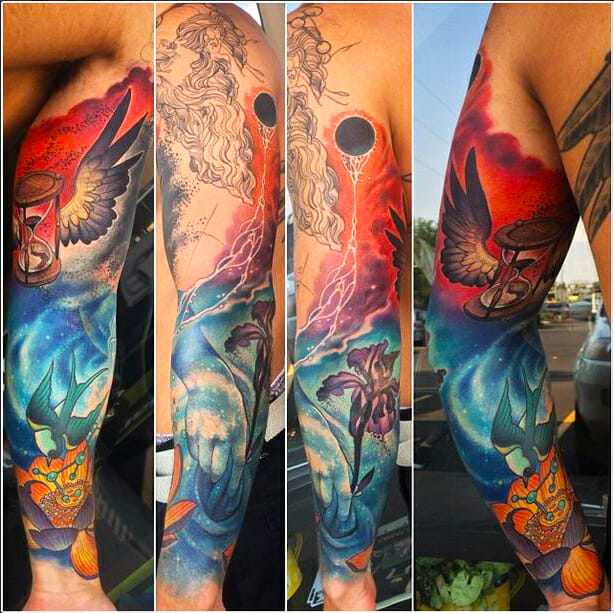 Arm Sleeve by Heather McLean