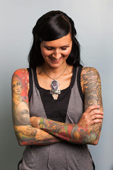 Tattoo Artist Heather McLean