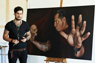 Australian Tattoo Artist Jimi May