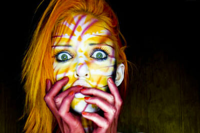 Body Painter Paul Roustan