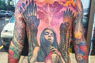Canadian Tattoo Artist Heather McLean