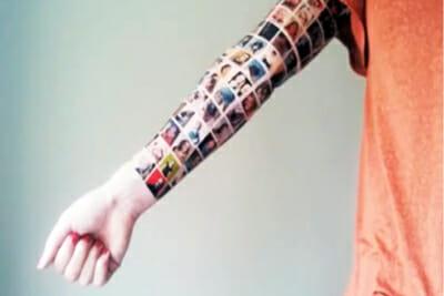 Facebook Tattoo Sleeve