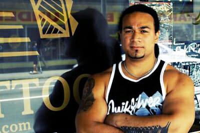 polynesian tattoo artist carl cocker