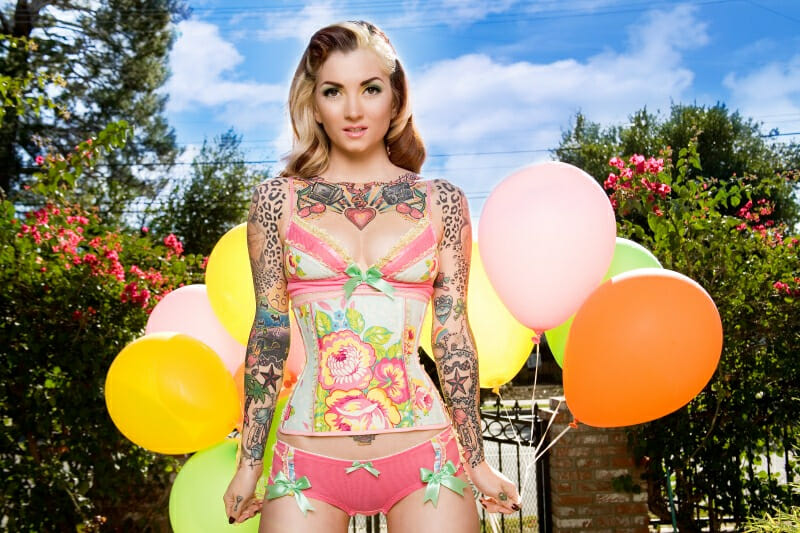 The Cherry Dollface Tattooed Model