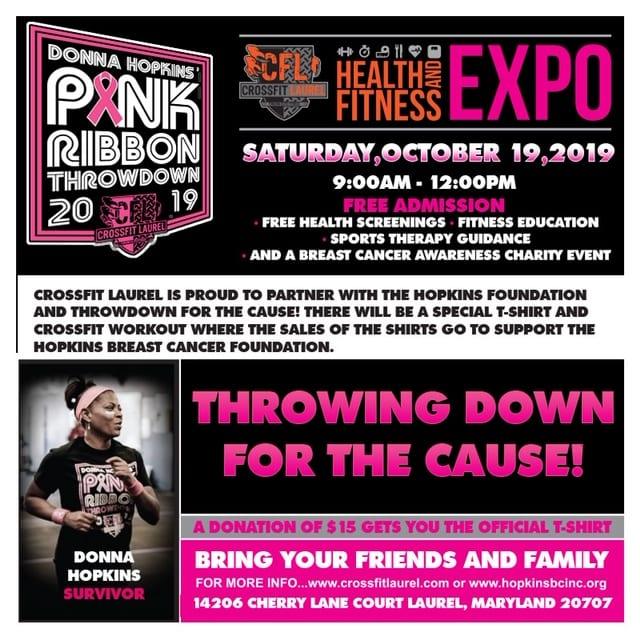2019 Pink Ribbon Throwdown