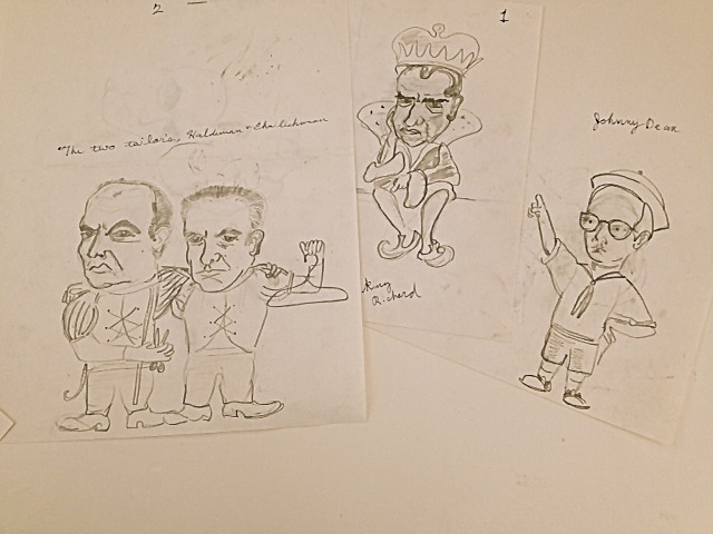 Watergate cartoons