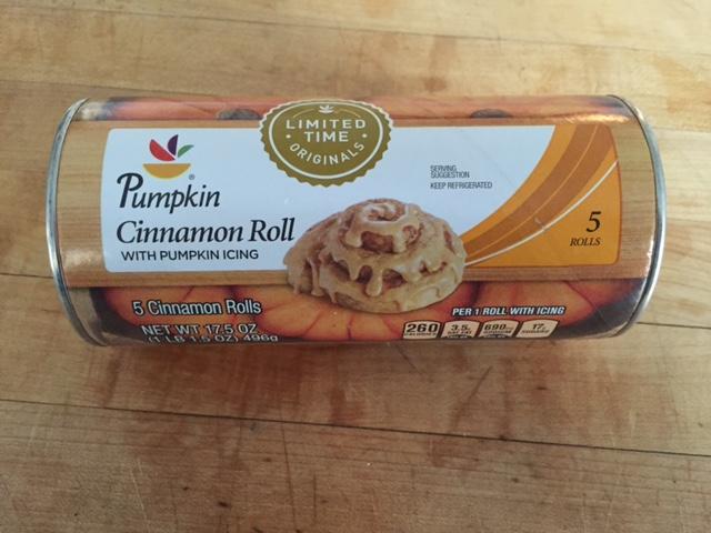 pumpkin roll can